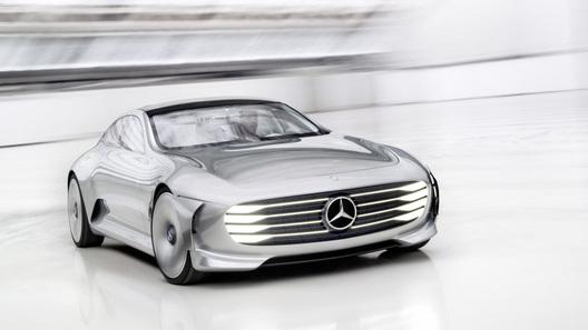 Benz покажет встолице франции новый электрокар