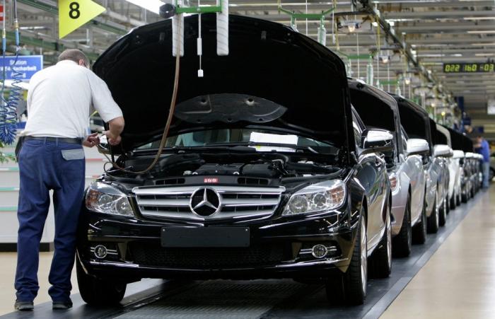 Mercedes в России