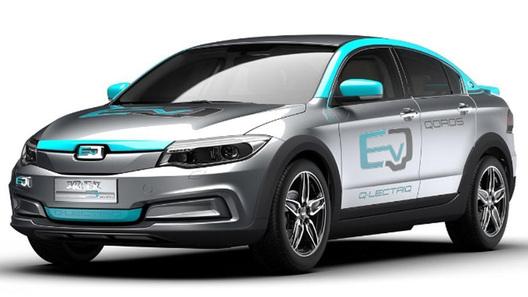 Компания Qoros рассчитывает выпустить свои 1-ый электромобиль