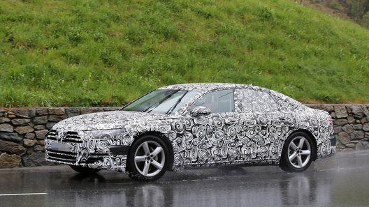 Audi A8 рассекретили
