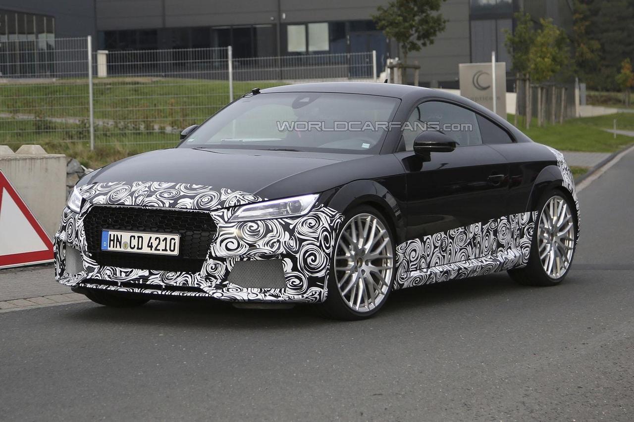 Агрессивная Audi TT появилась на испытаниях