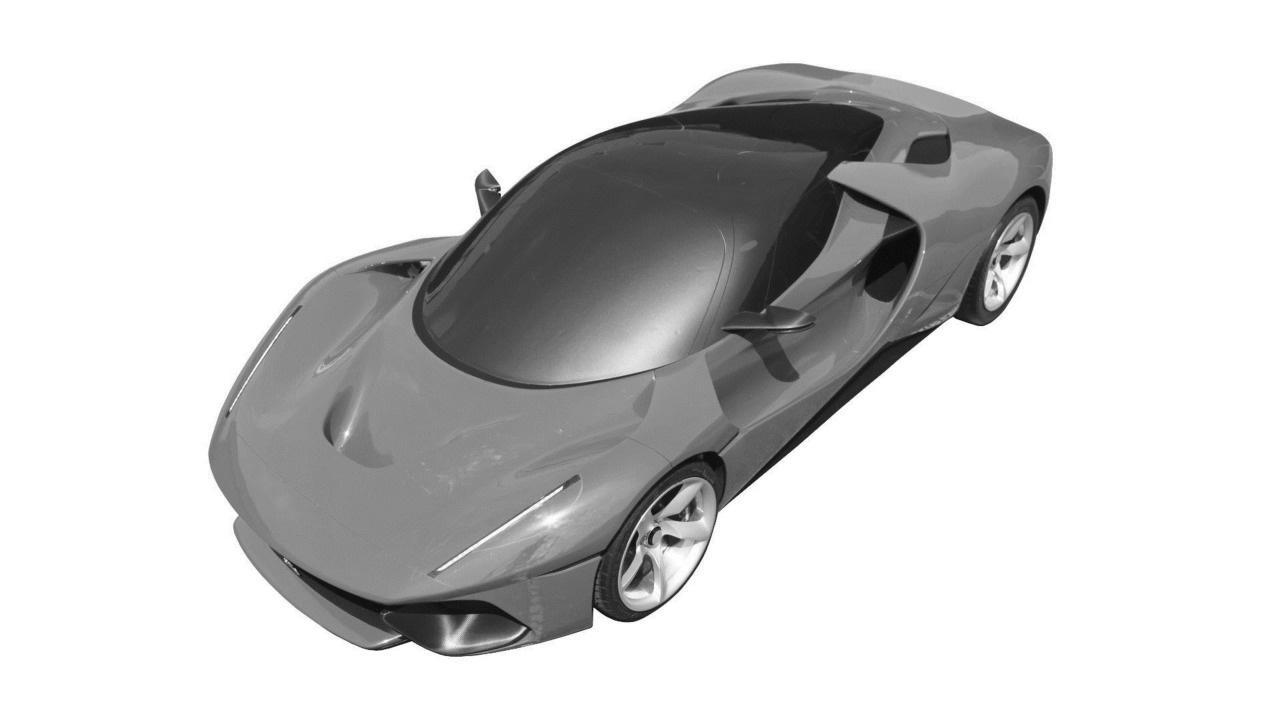 ВСеть просочилась информация отаинственном патентном спорткаре LaFerrari