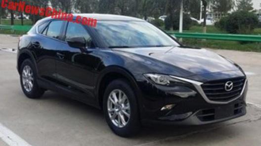 Новинку от Mazda засветили