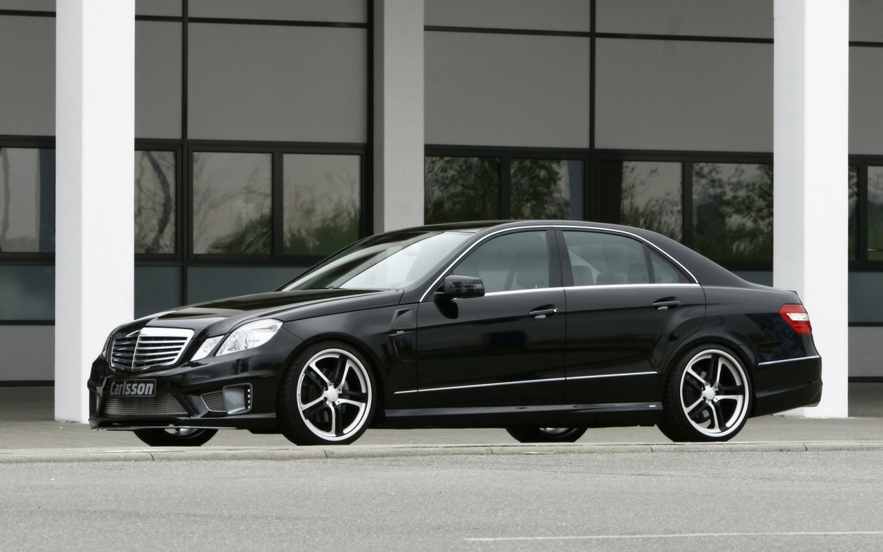 Carlsson Mercedes Benz E Class Front And Side 2009 автомобильные обои